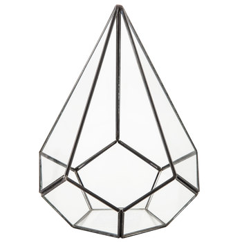 Black Geometric Terrarium